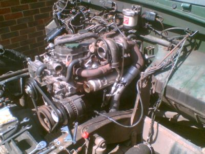 200tdi mounted in a Series Land Rover