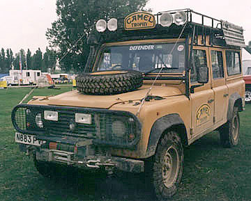 Camel Trophy Land Rover Defender 110 Pictures