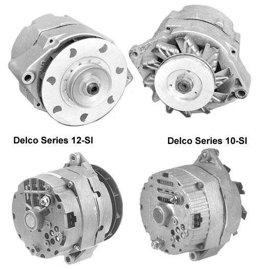 The Delco 10-SI and 12-SI Alternators on