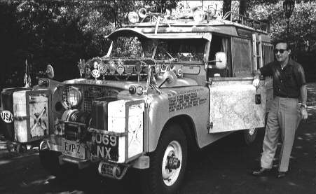 Herbert Zipkin S Expedition Land Rover