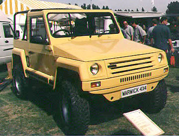 Land Rover based IBEX