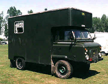 Land Rover series IIB with communications body