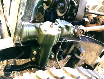 Land Rover power steering