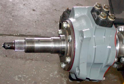 Series Land Rover Disc brake conversion