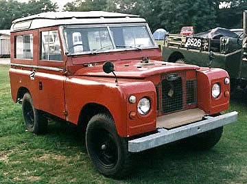 Land Rover factory V8 prototype