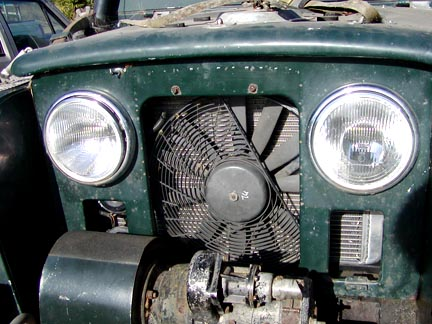 Converting a Series Land Rover to a V8