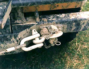 Camel Trophy Defender winch hook