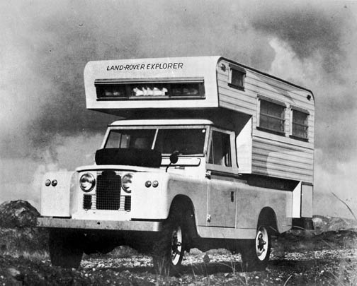 Choosing An Land Rover Model For Long Range Expedition Travel